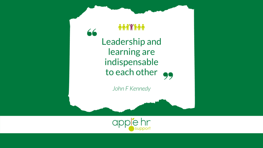 Leadership and Development Best Practice Guide - JFK Quote
