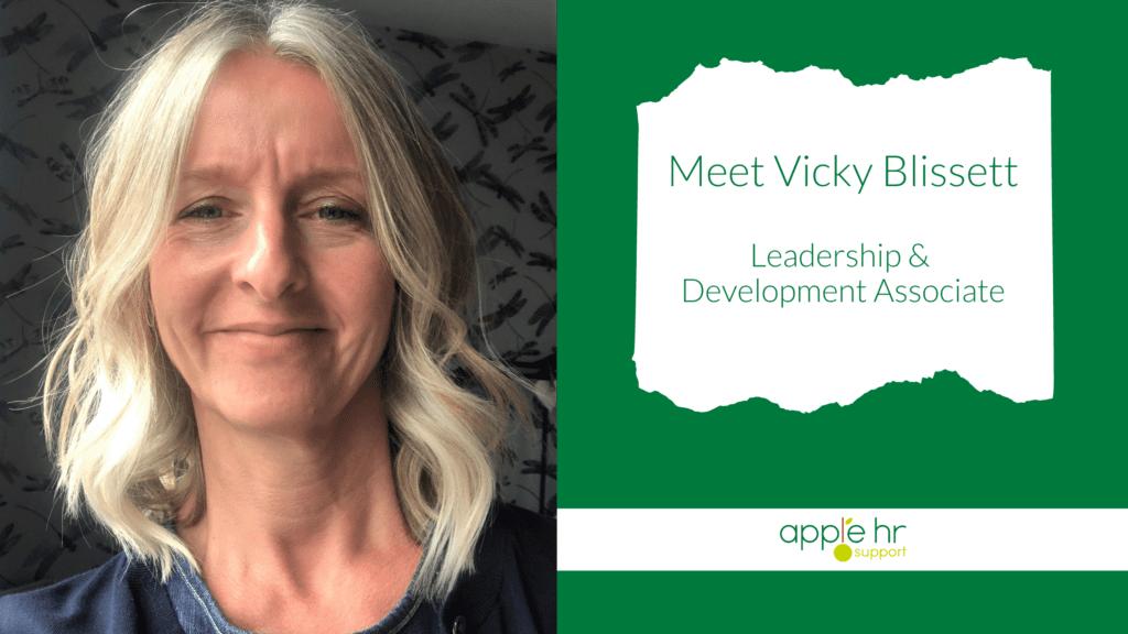Vicky Blissett - Leadership and Development Associate